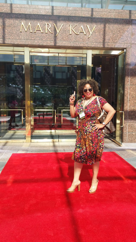 Mrs Nkechi Okorocha, is sure used to strutting the red carpet
