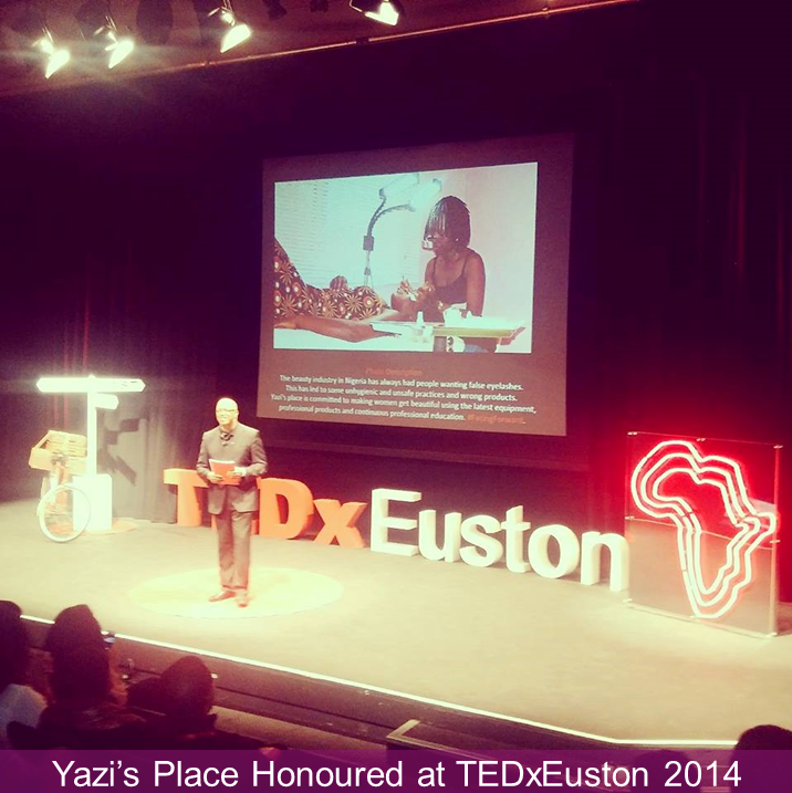 Honoured at TedxEuston 2014
