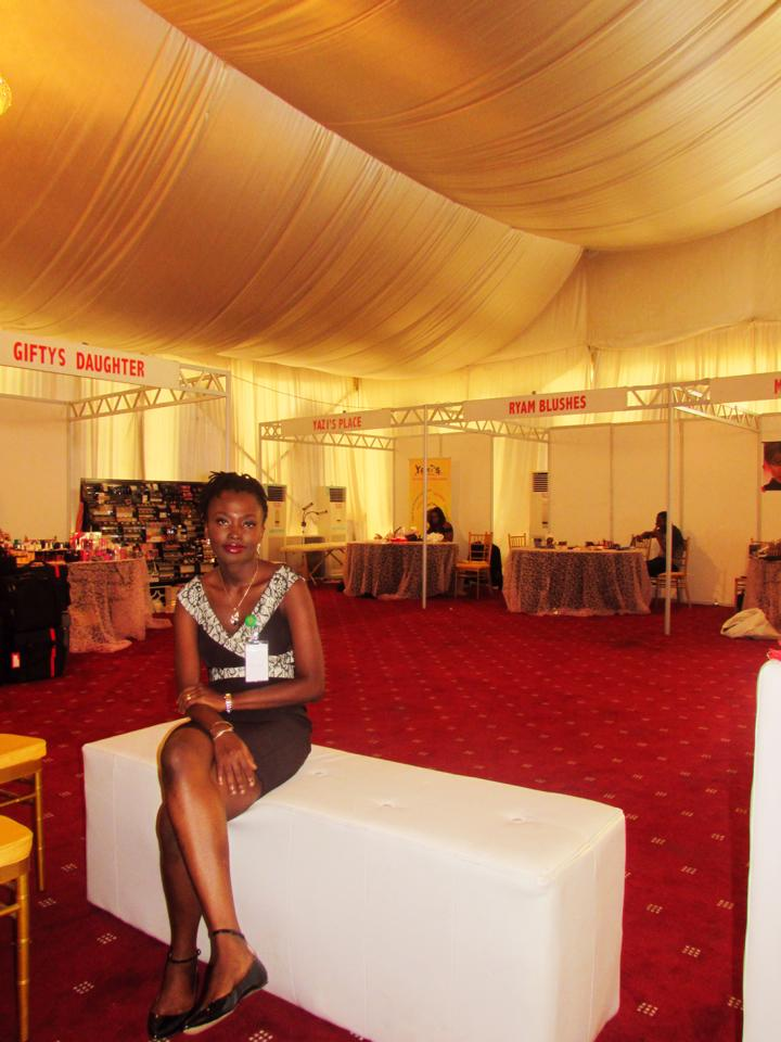 Omegie at Make-up Fair