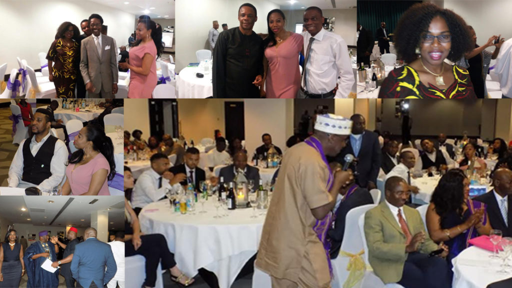 A cross section of the participants at Hilton London Olympia UBAUK #Giving Back reunion event