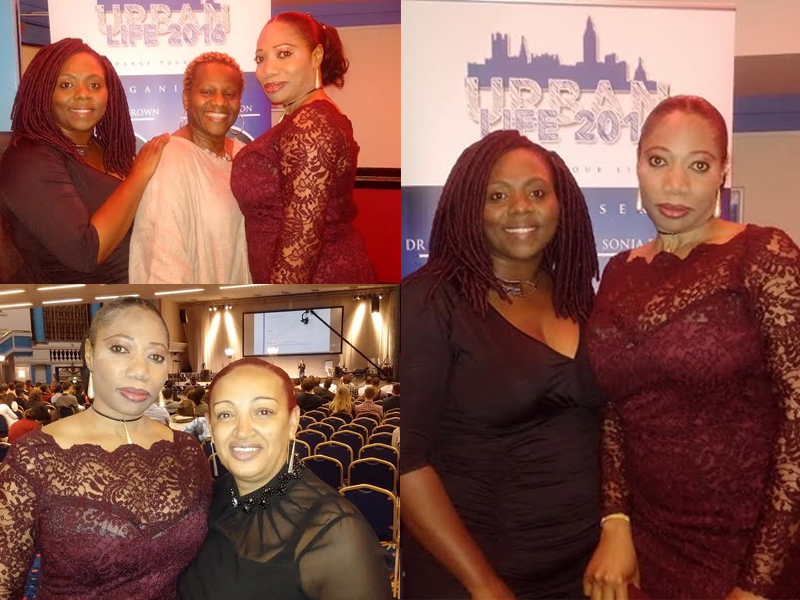 Coach Kemi Oyesola, Ava Brown Sonia Poléon and Loretta Ogboro-Okor - a confluence of positive influences‎ at Urban Life ET event in London on Sept 24th 2016
