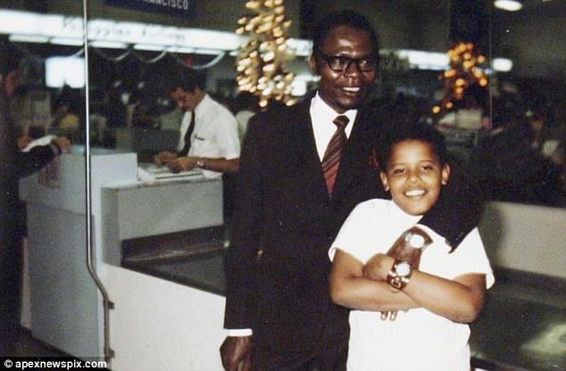 Barack Sr. and Jr.